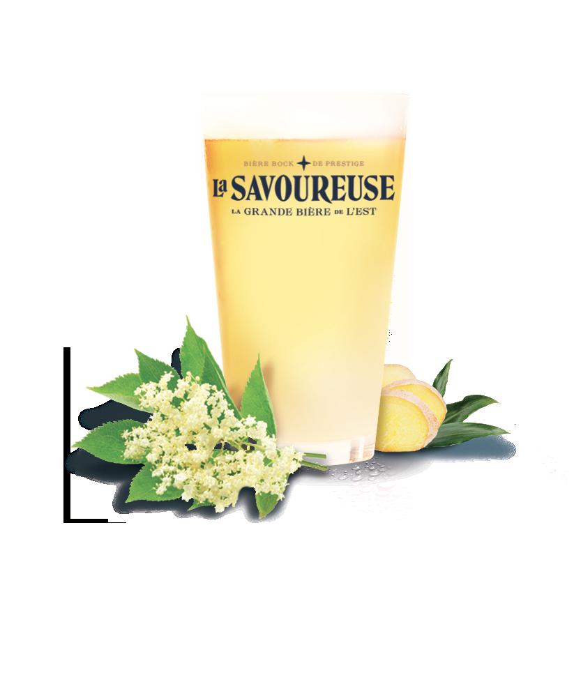 La savoureuse blanche bière artisanale brassée en Franche Comté